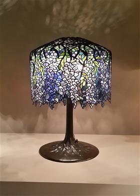 Wisteria Tafellamp - Louis Comfort Tiffany