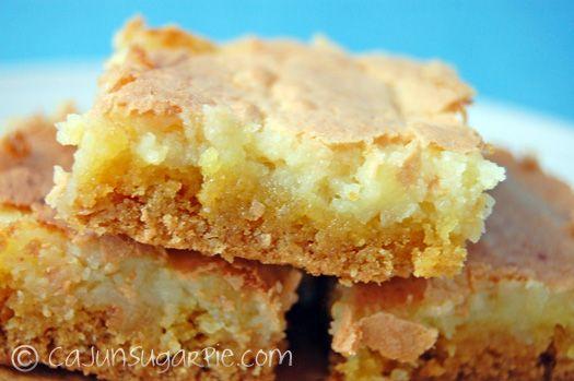 Ooey Gooey Lemon Bars @ Cajun Sugar Pie