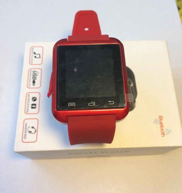 Smart Watch - Red Colour | eBay