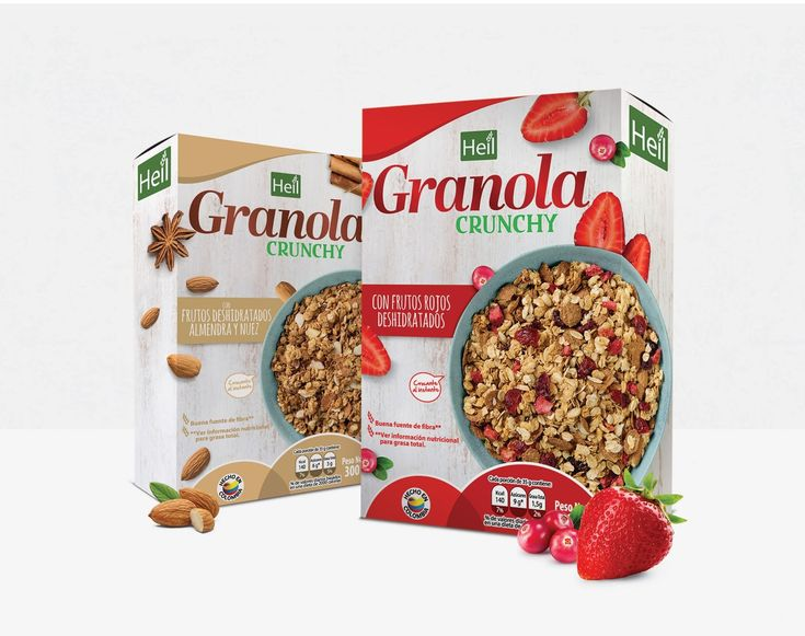 granola crunchy granola cerealcereal barscereal packagingpackaging ideaspackaging designmueslicreative - Packaging Design Ideas