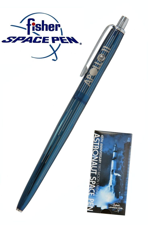Fisher Astronaut - AG7-45 45th Anniversary Blue Titanium Nitride Ballpoint Pen