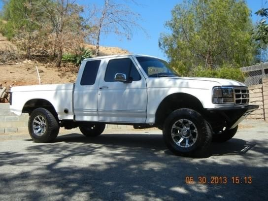 Cars for Sale: 1995 Ford F150 4x4 SuperCab in Simi Valley ...