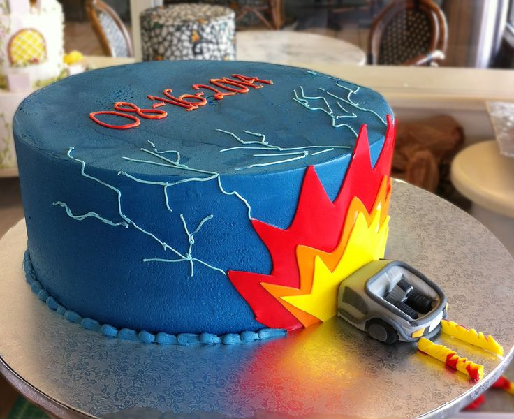 A Quot Back To The Future Quot Cake Cake 049 Birthday And