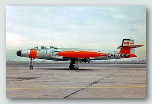 Canadian CF100 Mk 5 Canuck. The Avro Canada CF-100 was a Canadian jet interceptor/fighter serving during the Cold War both in NATO bases in Europe and as part of NORAD. The CF-100 was the only Canadian-designed fighter to enter mass production, serving primarily with the RCAF/CAF and in small numbers in Belgium.
