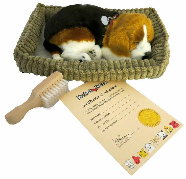 Breathing Puppy Toy Dog