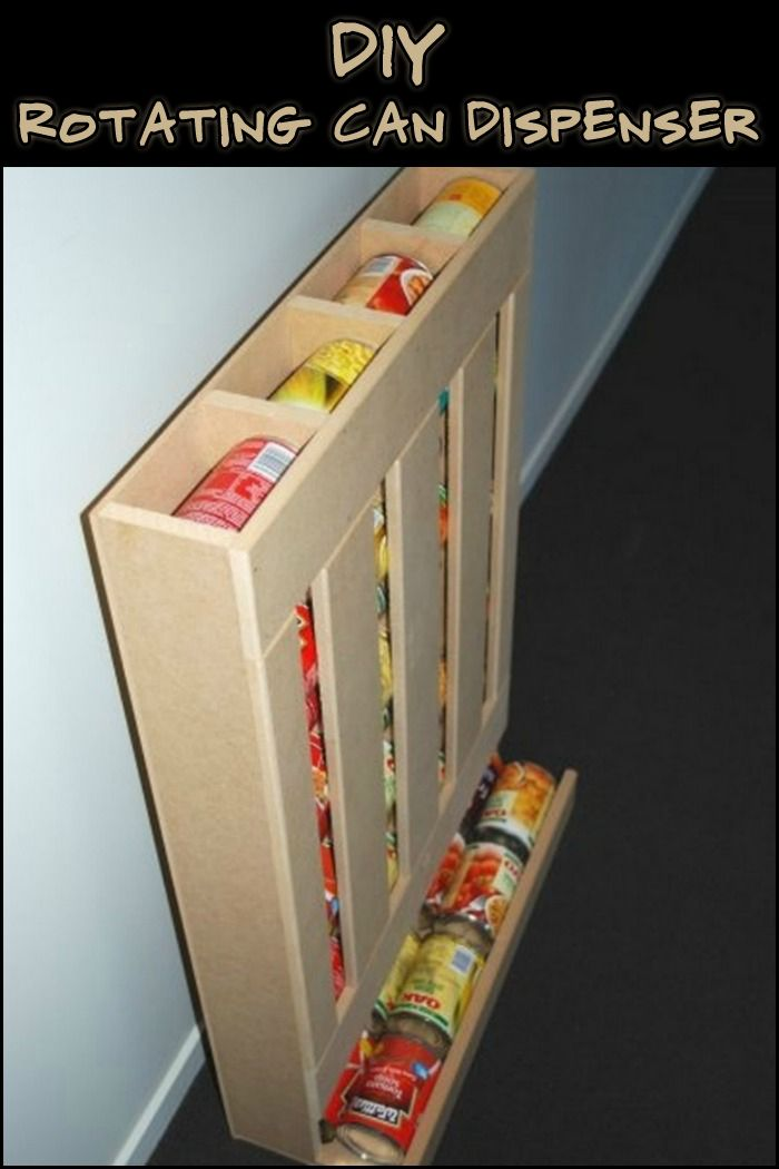 This food shelf is an ideal storage solution for canned goods. Do you need one in your pantry?