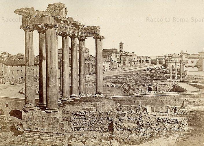 : Foro Romano Anno: 1853