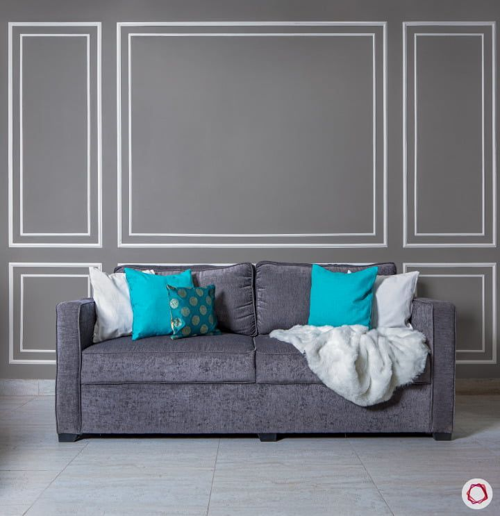 Wallpaper Vs Paint Insider Info You Need To Know Grey Accent Wall Decor Design Beautiful Interiors
