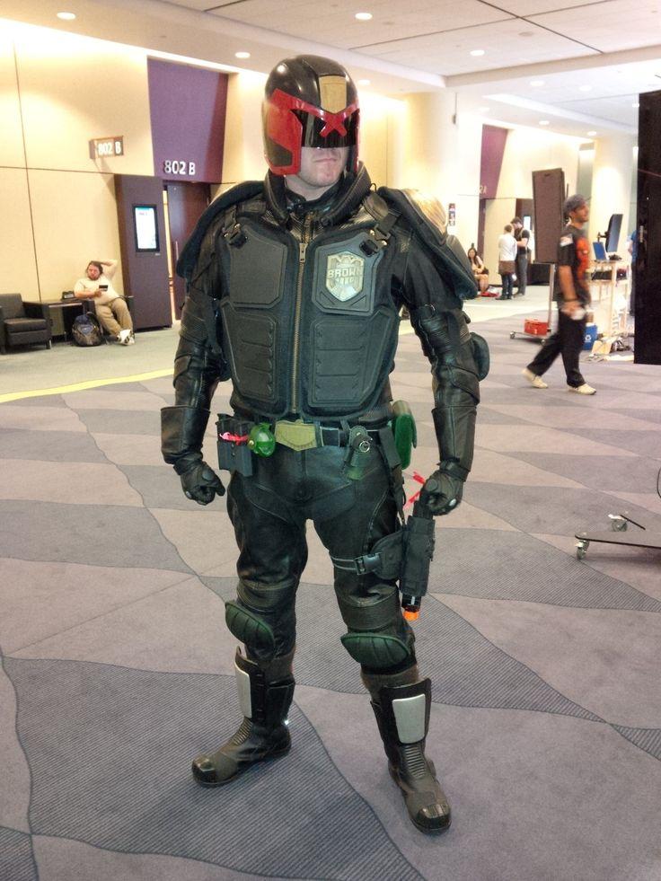 Judge Dredd cosplay at #FanExpo 2014 in Toronto.