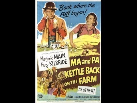 ▶ Ma and Pa Kettle Back on the Farm (1951 Full Movie)