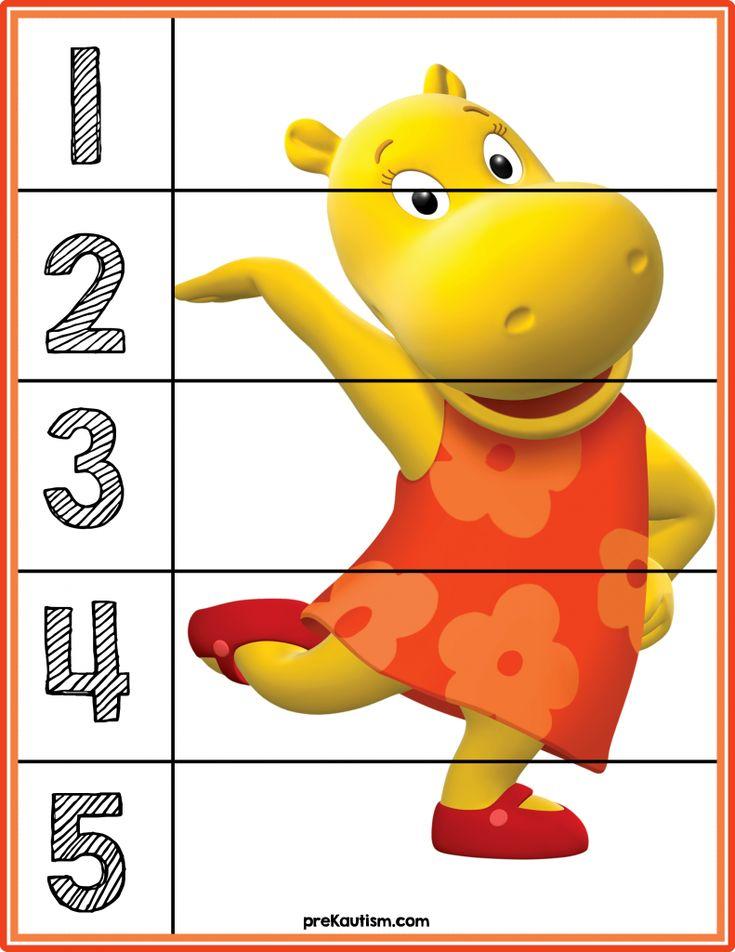 FREE! Backyardigans #puzzles