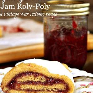 Jam Roly-Poly Recipe without Suet