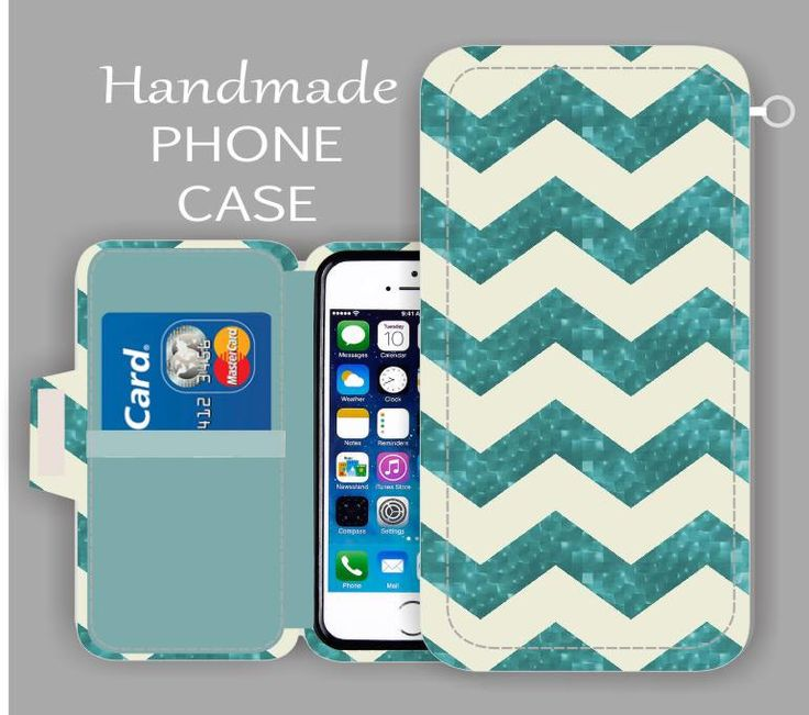 iPhone 6S Plus Chevron Aqua iPhone wallet case iPhone 6S Plus iPhone 6 S3 iPhone 6  Samsung Galaxy S5 Samsung Galaxy S6 by superpowerscases on Etsy