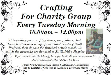 Crafting For Charity Group