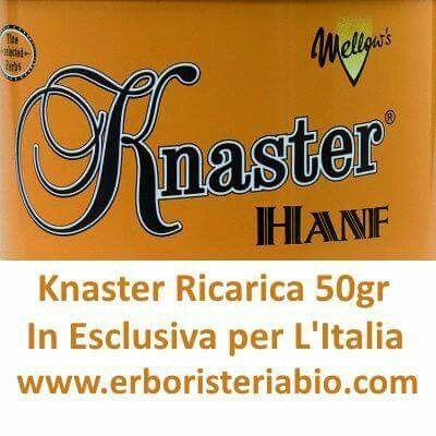 Knaster Ricarica 50gr in Esclusiva da erboristeriabio.com