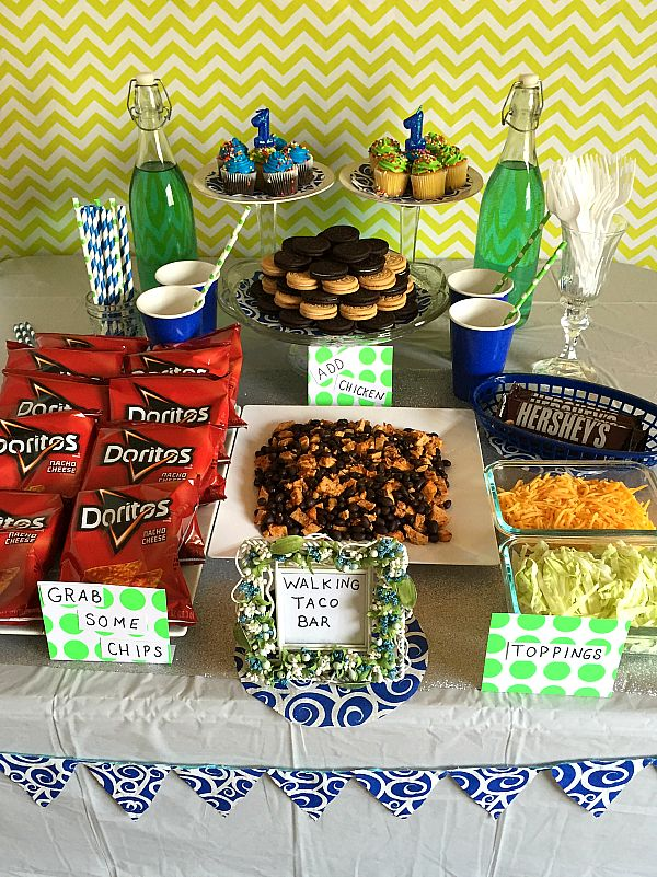20 best images about graduation party food ideas on for Food bar ideas for a party