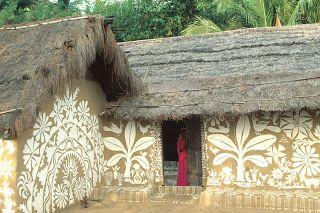 une collecte: Painted Prayers Puri District, Orissa