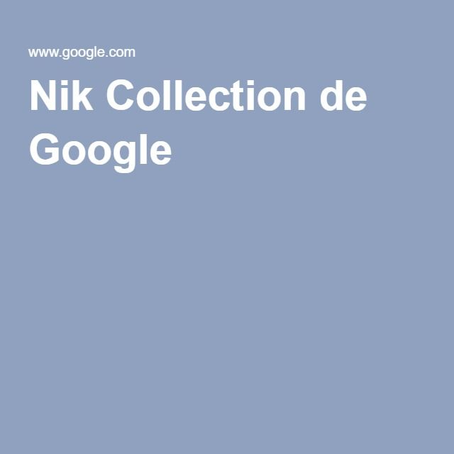Nik Collection de Google