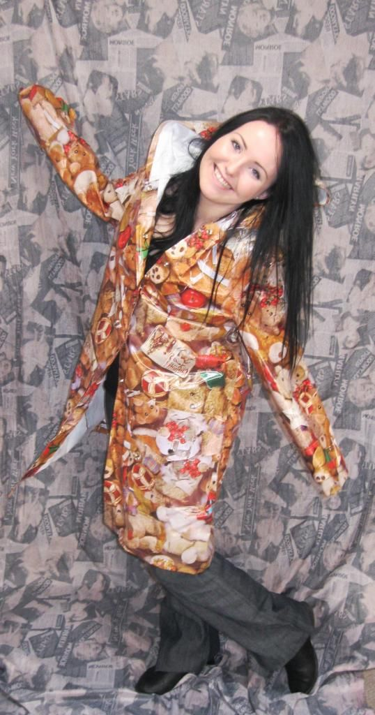 My raincoat i made at college in first year