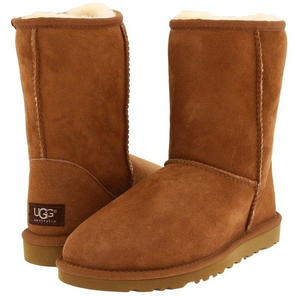 UGG Classic Short ($165) ❤ liked on Polyvore
