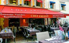 Chez Freddy Restaurant in Nizza, ein Tipp für Liebhaber von Meeresfrüchten © Susanne Zöhrer