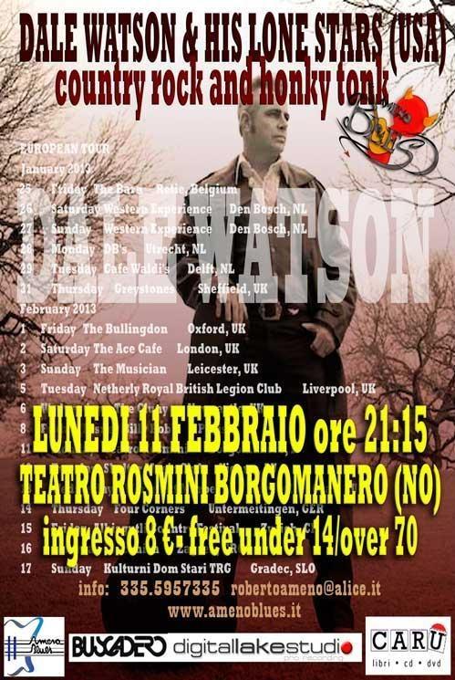 Country rock music in Borgomanero!