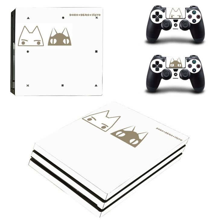 Toro Inoue Ps4 pro edition skin decal for console and controllers