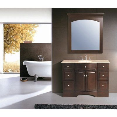 Gallery One Adelina inch Cottage Bathroom Sink Vanity White marble counter top plantation inspired