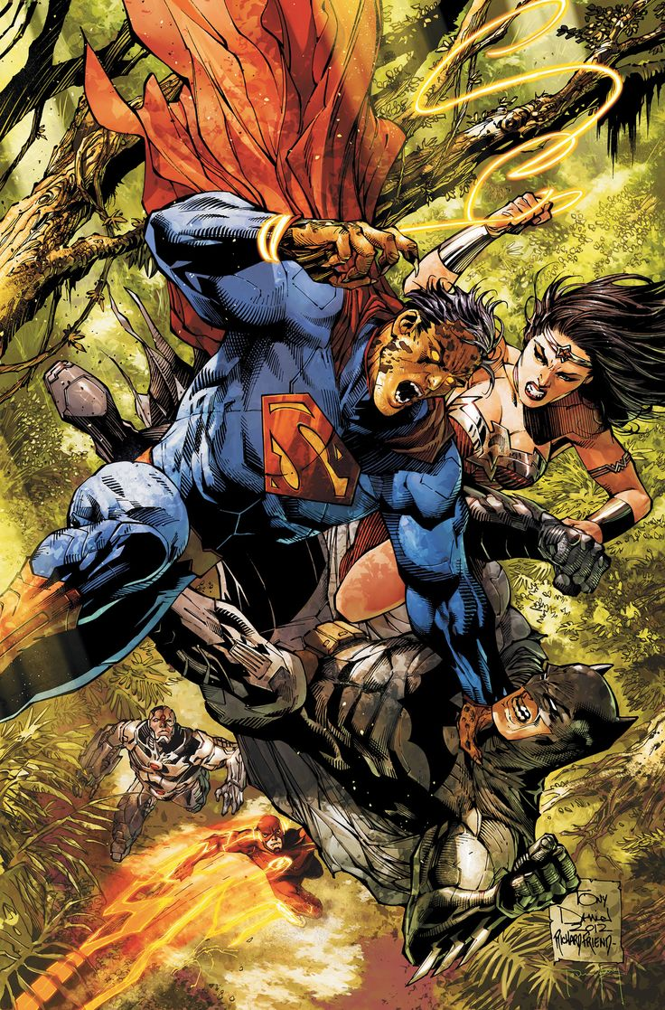 Justice League - The Secret of the Cheetah pt 2. Superman is effected by the Goddess of the Hunt.