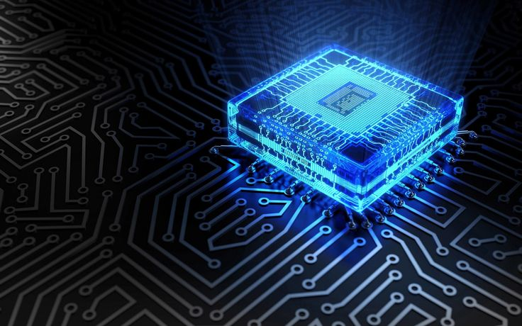 3D computer chip HD wallpaper | HD Wallpapers Rocks