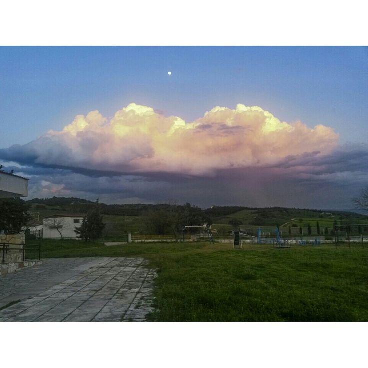 Cloud colorful