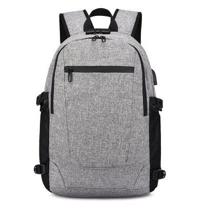Business Laptop Backpack with USB Charging & Headphone Port and Password Lock, Fits 12-16 Inch Laptop and Notebook, Water Proof School Rucksack Business Knapsack Travel Daypack College Bookbag (Grey B