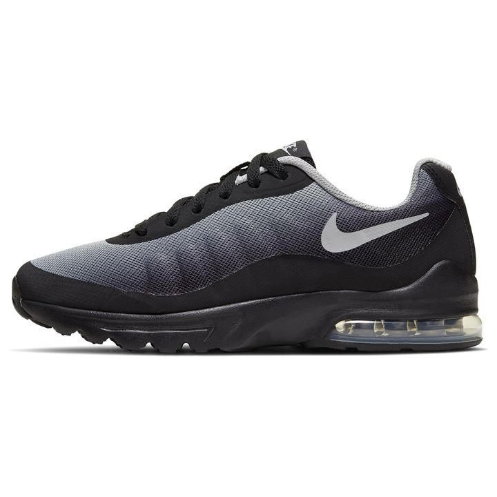 Nike Air Max Invigor GS Junior Boys Trainers - Black/Wht/Grey in ...