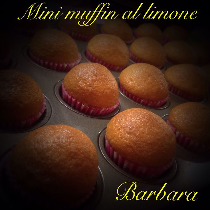 Mini muffin al limone