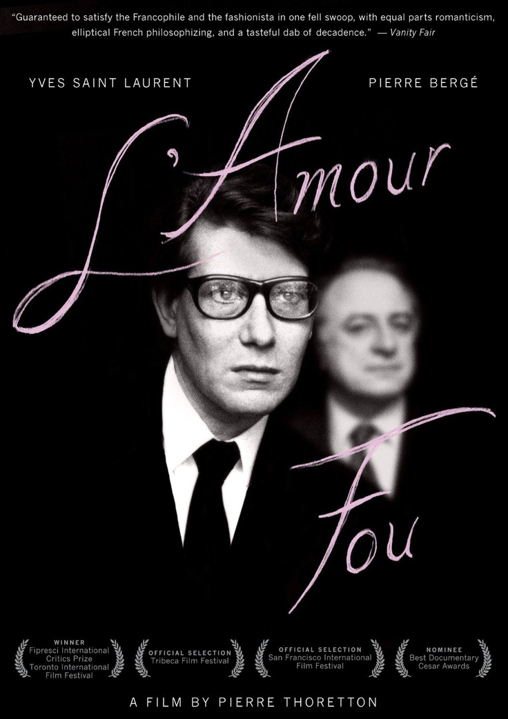 L'amour Fou de Pierre Thoretton © 2010 Hugues Charbonneau & Kristina Larsen
