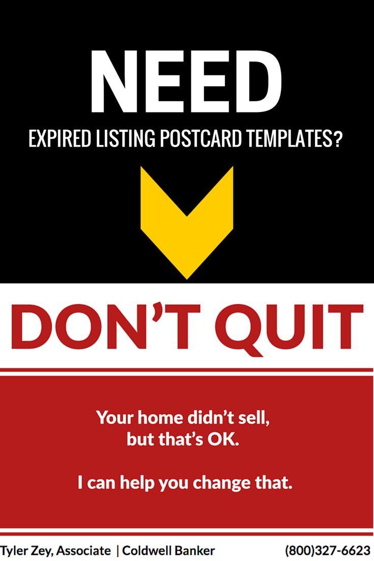 real estate postcards templates free