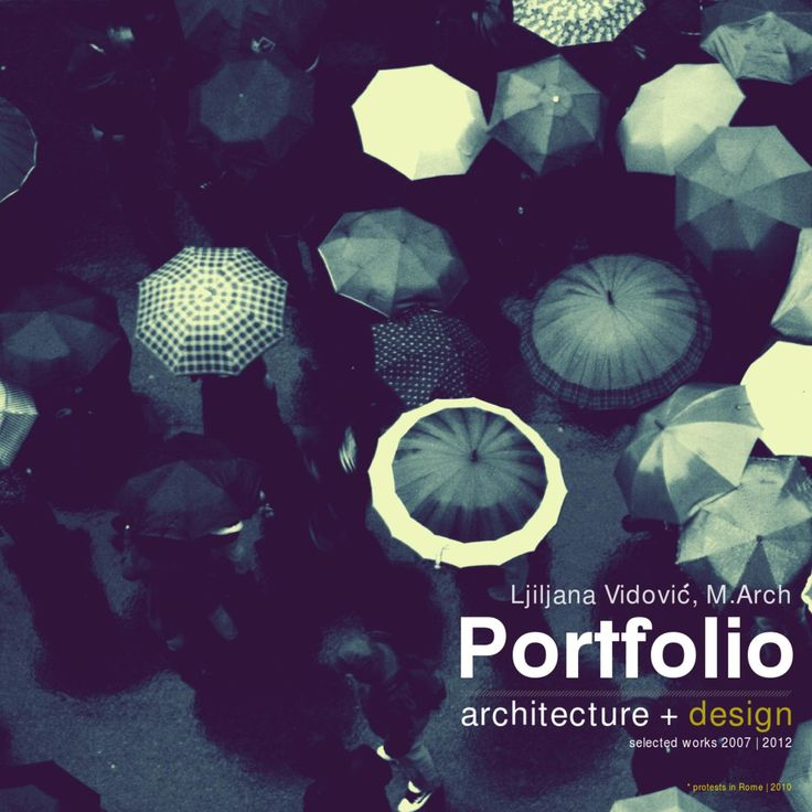Architecture portfolio 2012  I updated the last version of my portfolio with some new projects and new design.