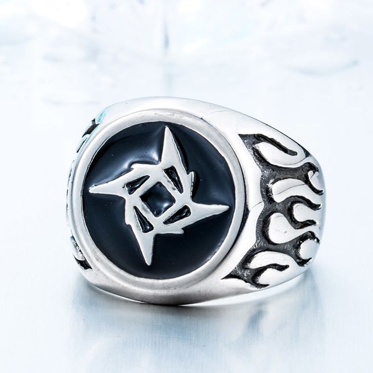 New Metallica Ninja Star Rings Super Hot Jewelry 316L Stainless Steel Man's 2016 Fashion Ring  BR8-212 US size