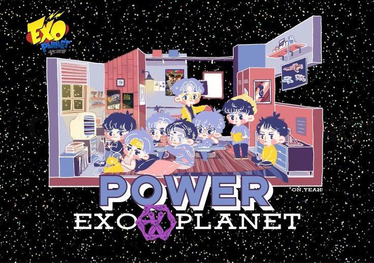 #FANART #THE POWER OF MUSIC #EXO