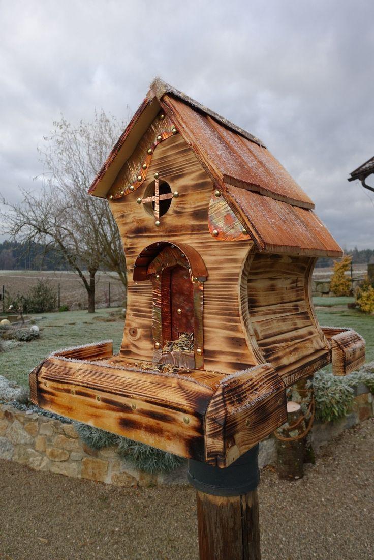 301 besten Vogelhaus Vogelfutterhaus Bilder auf Pinterest