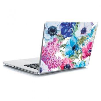 Αυτοκόλλητο laptop floral