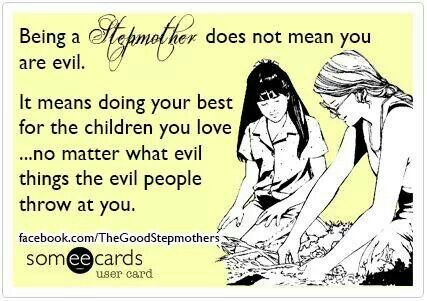 I always enjoyed being a step mom. Even during the years of court battles, alienation and slander. I miss my step kids dearly.