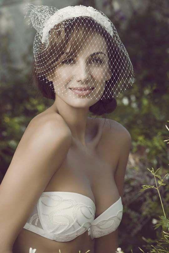 Mejores 12 imágenes de Lencería para novia en Pinterest   Lencería ...