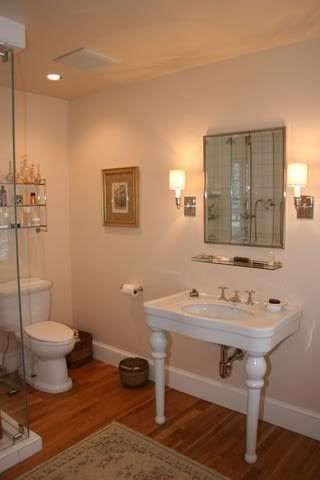 This is DKC #3. Whereas Farrow's Cream has subtle green undertones, this has pink ones. Pointing on ceiling and trim.