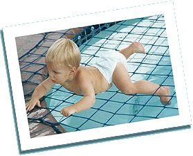 Katchakid pool safety net