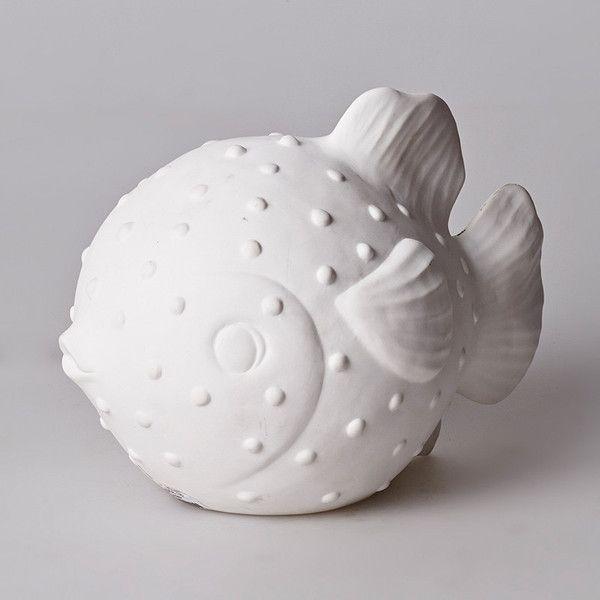 Small Puffer Fish Lamp   Have you met Miss Jones