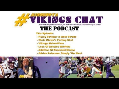 Loss Of Antoine Winfield, Desmond Bishop At Mike & Adrian Peterson Is #1 [VIDEO] This episode: The anniversary of Korey Stringer's death;  Chris Kluwe's parting shot at Mike Priefer; #Vikings HelmetCams; what Antoine Winfield meant to the Vikings defense; the Erin Henderson / Desmond Bishop MLB battle; Adrian Peterson tops 100 best list - http://minnesotavikingschat.com/2013/06/29/winfield-henderson-bishop-peterson-stringer-kluwe-vikingscam-minnesota-vikings-chat-podcast-video/3701…