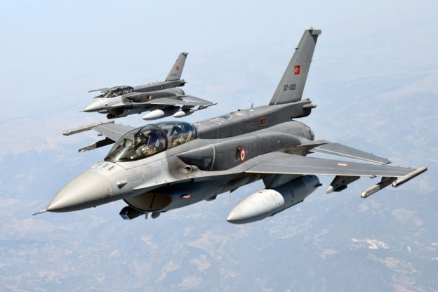 Turkish Air Force authorized to shoot down any Russian aircraft perceived to be violating Turkish airspace