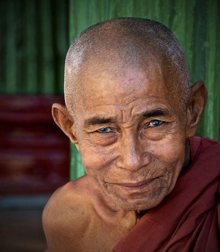 Buddhist Monk in Burma by Joe Routon on 500px in 2020