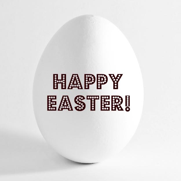 OUI . OUI: Happy Easter!